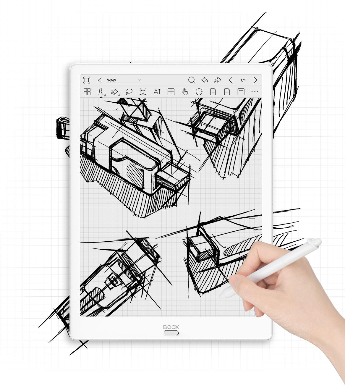 Max 3 - szkice i rysowanie
