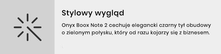Note2 - stylowy wygląd