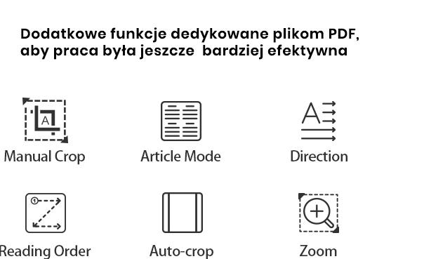 Nova2 - dodatkowe funkcje PDF