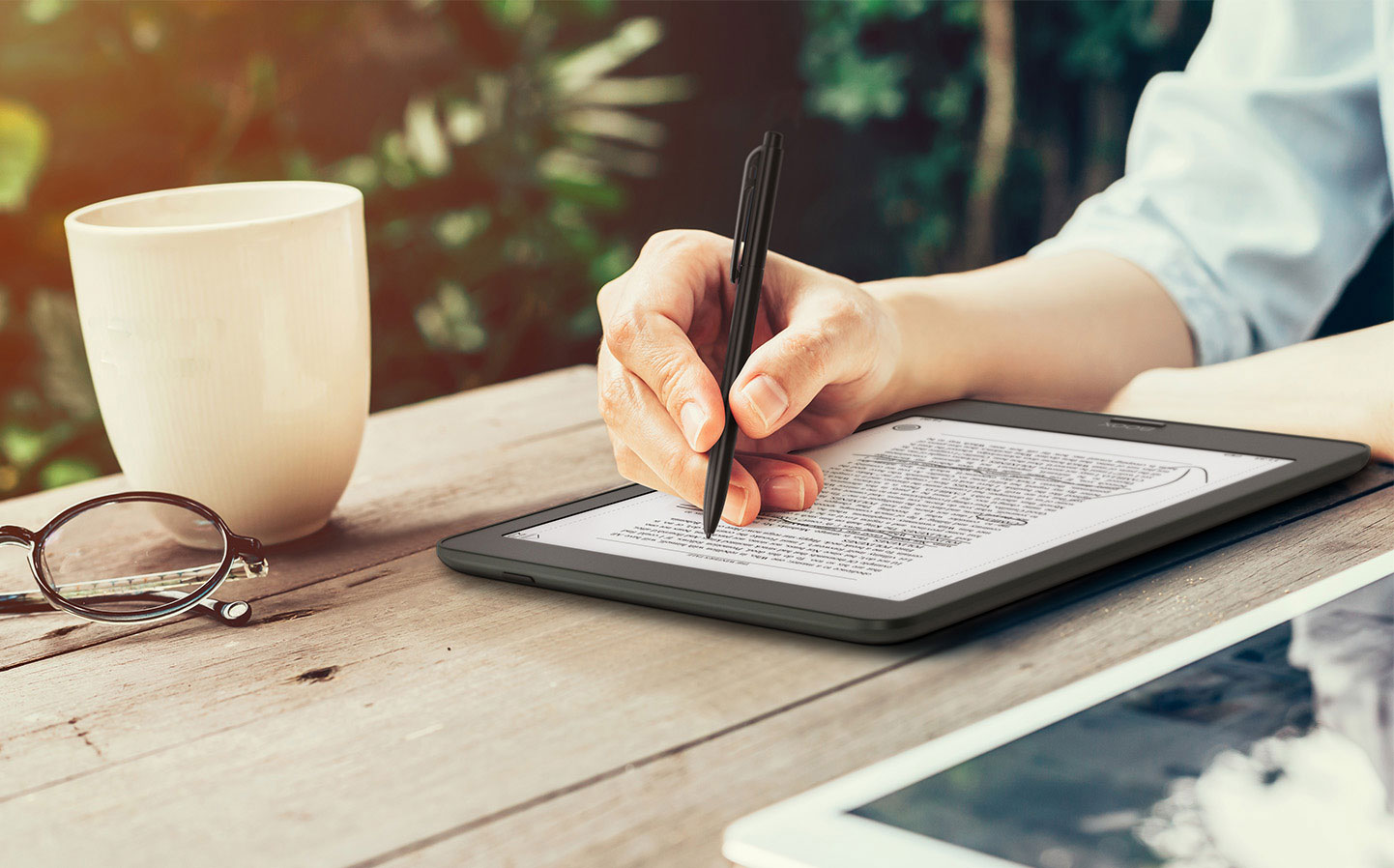 Czytaj i rób notatki -  tak jak w książkach drukowanych