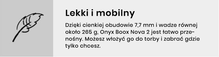 Nova2 - lekki i mobilny